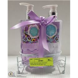 NEW OPALINE SPA EVENING PRIMROSE BATH GIFT SET