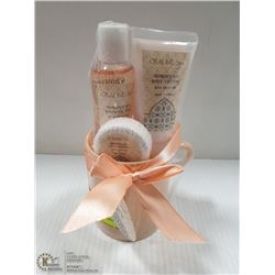 NEW 4PC OPALINE SPA MOROCCAN MIST BATH SET
