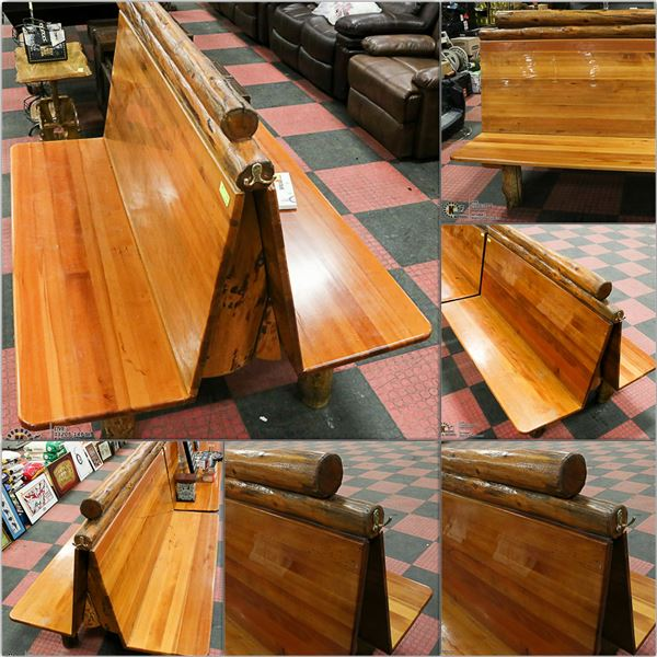 FEATURED WOOD BENCHES