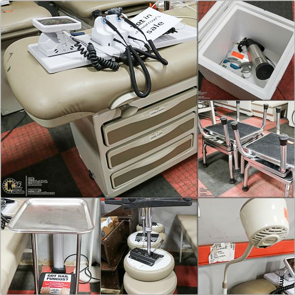 FEATURED MEDICAL BEDS AND EXAMINATION EQUIPMENT