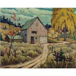 William Parsons - OCTOBER BARNS, NEAR PAKENHAM, ONT