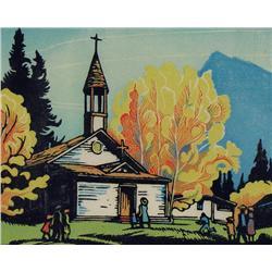 Margaret Dorothy Shelton - FIRST CATHOLIC CHURCH AT BANFF