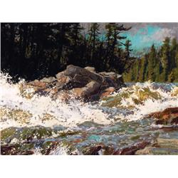 Horace Champagne - HIGH WATER FROM MELTING SNOW