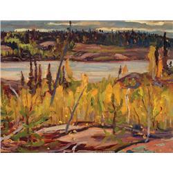 Alexander Young Jackson - DOME LAKE, NORTHERN SASKATCHEWAN
