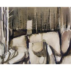 Franklin (Frank) H. Palmer - UNTITLED (ABSTRACT TREES)