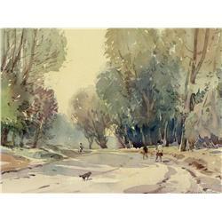 Alfred Crocker Leighton - ARBUTUS AVENUE (GORDON HEAD, VICTORIA BC)