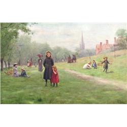 (19th century) British School - HAMPSTEAD HEATH