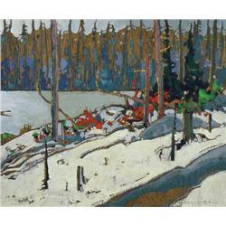 Robert Genn - SNOW AT HARDY