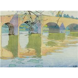 Walter Joseph Phillips - ECKINGTON BRIDGE