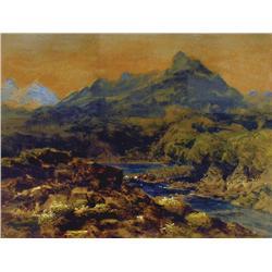 Marmaduke Matthews - A DREAM OF THE HILLS