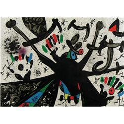 Joan Miro - HOMENATGE A JOAN PRATS, PL. 3