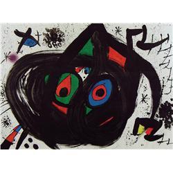 Joan Miro - HOMENATGE A JOAN PRATS, PL. 5