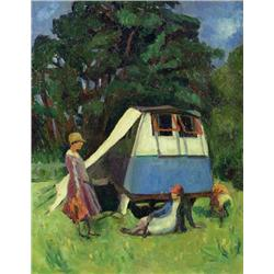 Unidentified Artist - UNTITLED (CAMPING)
