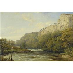 British School - UNTITLED (AFTERNOON BY A RIVER)