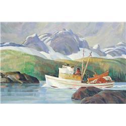 Ronald Threlkeid Jackson - BELOW RIVERS INLET BC