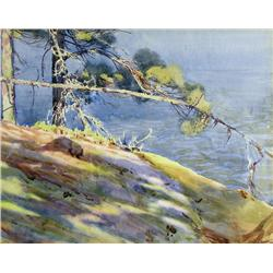 Walter Joseph Phillips - LAKE OF THE WOODS