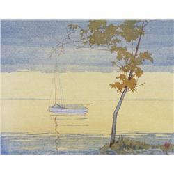 Walter Joseph Phillips - FALL, LAKE WINNIPEG