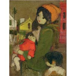 William Arthur Winter - YOUNG MOTHER