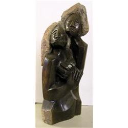 Shona Sculpture, Benjamin Mundara - LOVERS