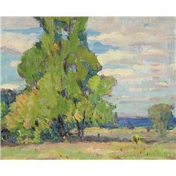 Dewitt Drake - UNTITLED (TREES AND BRUSHLAND)