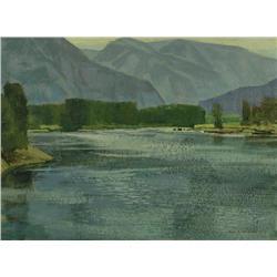 Alan Caswell Collier - SKEENA RIVER, B.C.