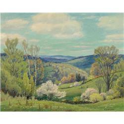 Frederick Henry Brigden - SPRING IN THE VALLEY