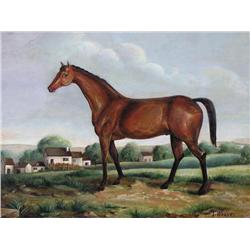 Thomas Weaver - UNTITLED (STUDY OF A HORSE)