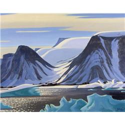 Charles Anthony Francis Law - JAGGED ICE FLOES (DEXTERITY ISLAND, BAFFIN ISLAND, N.W.T.)