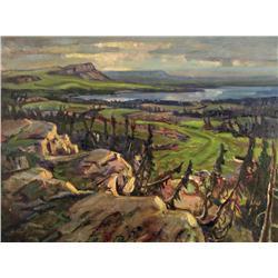 John Barry Rennie - NORTH SHORE, GREAT BEAR LAKE, NEAR HUNTER BAY, N.W.T.