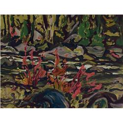 Alexander Young Jackson - UNTITLED (RIVER RAPIDS)