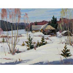 William Parsons - OLD HALIBURTON LUMBER MILL, NEAR ALGONQUIN PARK