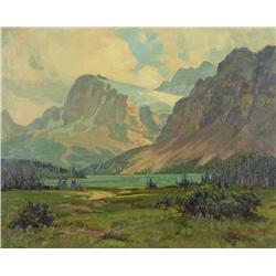 Roland Gissing - CROWFOOT LAKE & BOW GLACIER