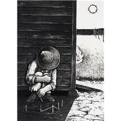 William Kurelek - THE HOUND OF HEAVEN