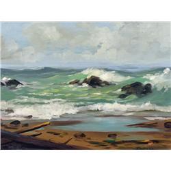 Robert E. Wood - UNTITLED (CRASHING SURF)
