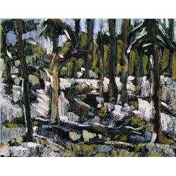 Lorenzo Dupuis - FOREST INTERIOR-RED RIVER PARK#1/FOREST INTERIOR-RED RIVER PARD #2
