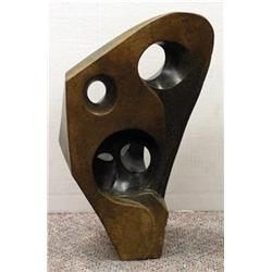 Shona Sculpture, D. Mundara - LOOKING THRU TIME