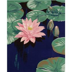 Alfred Joseph Casson - UNTITLED (WATER LILIES AND FROG)