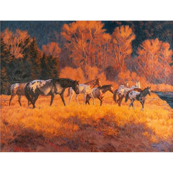 Claire Goldrick, oil on canvas