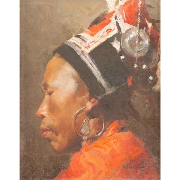 Mian Situ, oil on canvas
