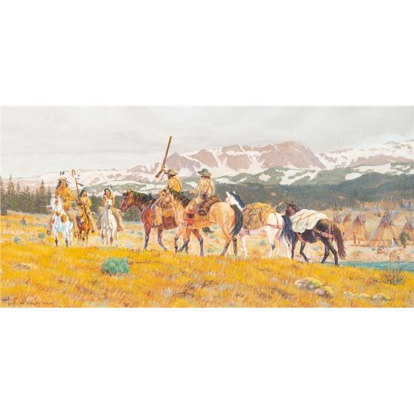 Art Kober, oil on canvas