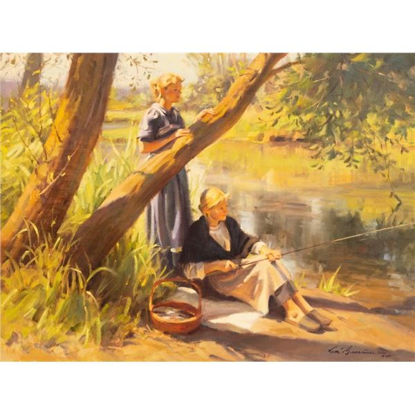 Tom Browning, oil on canvas