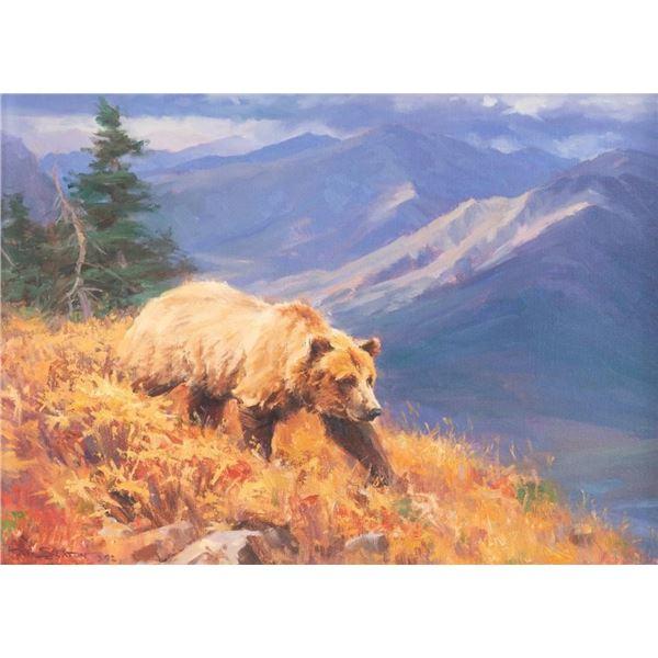 Ray Sexton, oil on canvas