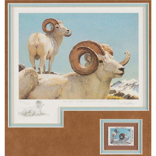 Bob Kuhn, print