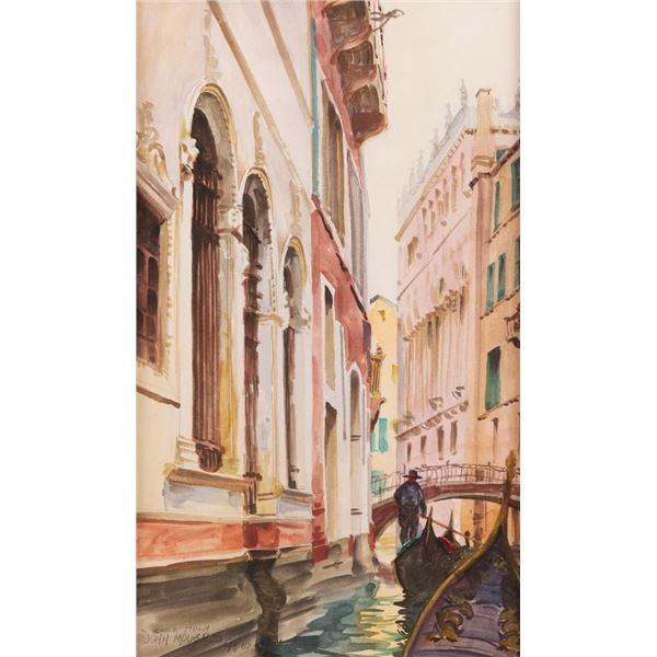 John Moyers, watercolor