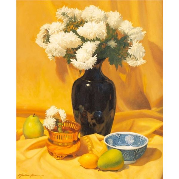 Marlin Adams, oil on canvas