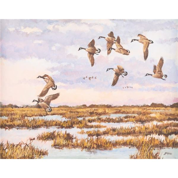 David Drinkard, oil on canvas