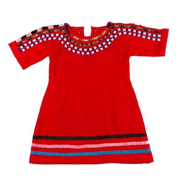 Blackfeet Child's Dress