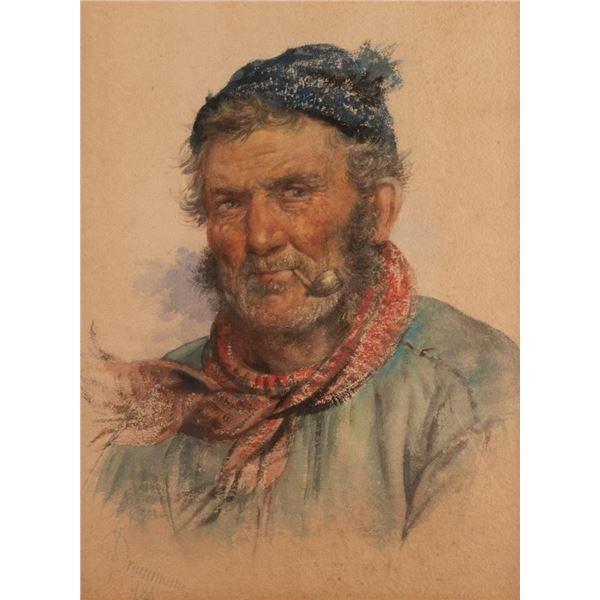 James Drummond, watercolor