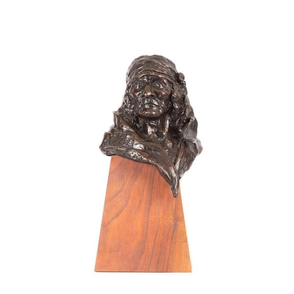 Bud Mayes, bronze