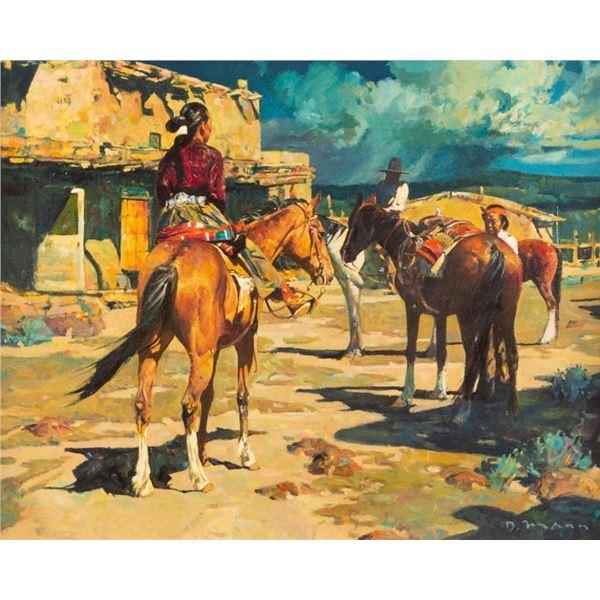 David Mann, oil on canvas